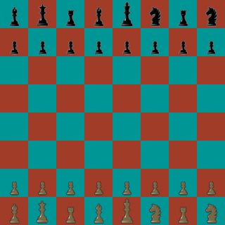 1 of 960 possible Chess960 openings